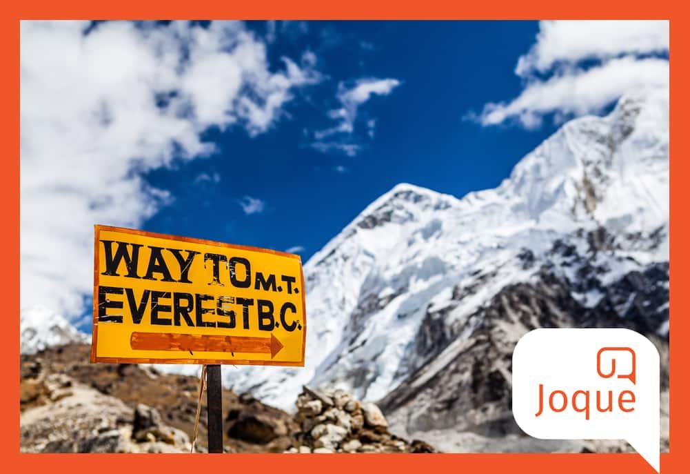 SEO-analyse: 7 redenen waarom een SEO-traject hiermee moet beginnen. Hoe beklim je de SEO-Everest, Mount Everest beklimmen als metafoor voor SEO